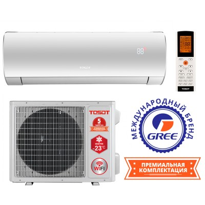 Кондиционер TOSOT LYRA Winter Inverter R32 GF-18W