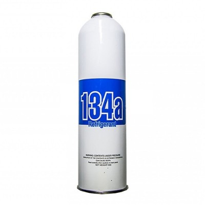 Хладон R-134А 0.8 кг Холодоагент R 134 под прокол фреон одноразовый под кран CT-339