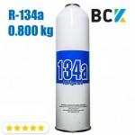 Хладагент фреон R134a 0.800 кг хладон для холодильного оборудования одноразовый под кран CT-339