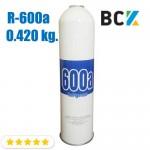 Хладагент фреон R600 0.420 кг хладон для холодильного оборудования одноразовый под кран CT-341