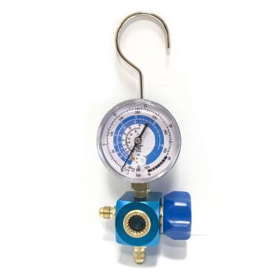 Одновентильный манометрический коллектор SM04L3 (R410A, R22, R134A, R404A) (hq)