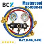 Двухвентельний манометрический колектор Mastercool MC-93661-EB (R-22, R-407, R-410)