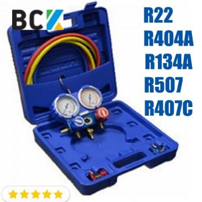 Манометрический коллектор R22-R404A-R134A-R507-R407C (Ice Loong)