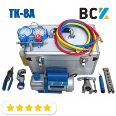 Набор инструмента для монтажа кондиционера Ice Loong TK-8A в чемодане инструмент для монтажа кондиционеров комплект монтажника 100% предоплата