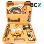 Набір інструменту ZRB-5B аналог VTB-5B 1/4-3/4 вальцовка разбортовка для мідних труб інструмент для монтажу кондиціонерів