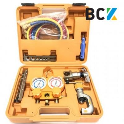 Набор инструмента ZRB-5B аналог VTB-5B 1/4-3/4 вальцовка разбортовка для медных труб инструмент для монтажа кондиционеров