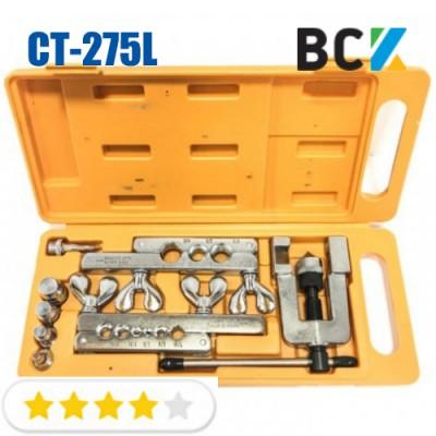 Набор вальцовочный CT-275L/CT-92 1/8-3/4 вальцовка разбортовка для медных труб монтаж кондиционеров