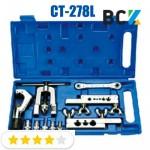 Набор вальцовочный CT-278 1/8-3/4 вальцовка разбортовка для медных труб монтаж кондиционеров