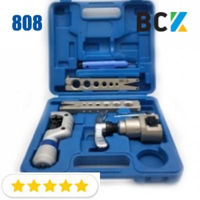 Набор вальцовочный для миллиметрових и дюймових труб комплект FT 808A вальцовка разбортовка для медных труб монтаж кондиционеров