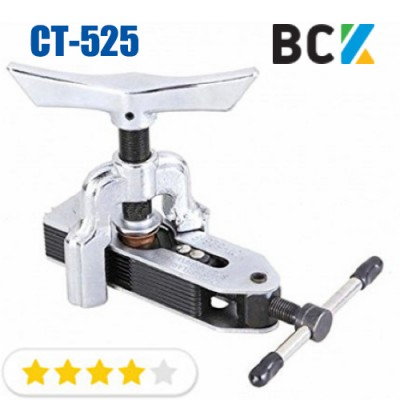 Вальцовка для медных труб разбортовка 5- 6 мм 3/16-5/8 CT-525 инструмент для обработки труб и монтажа кондиционеров