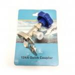 Кран універсальний під балон CT-337/CT-340 1/4SAE (R12, R134a) (hq)