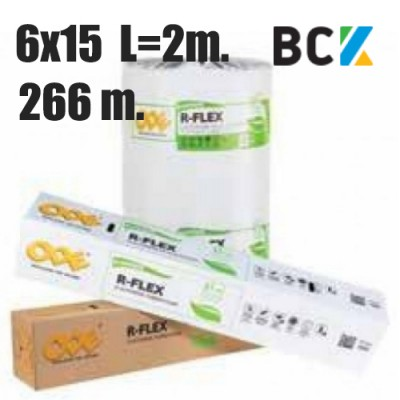 Изоляция для труб Ode R-flex 06x15 (от 1 упак. - 266 м) термоизоляция для медных труб кондиционера - монтаж установка