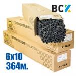 Трубка K-FLEX ST 6x10mm (от упаковки - 364м) ПОД ЗАКАЗ! термоизоляция для медных труб кондиционера - монтаж установка