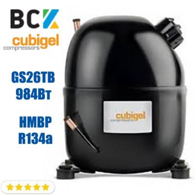 Компрессор герметичный средне/высокотемпературный HMBP R134a CUBIGEL GS26TB 984Вт ACC для холодильных агрегатов 220В