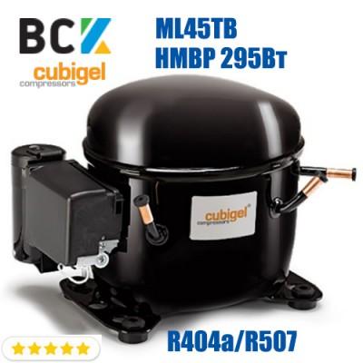 Компрессор герметичный средне/высокотемпературный HMBP R404a/R507 CUBIGEL ML45TB 295Вт ACC для холодильных агрегатов 220В