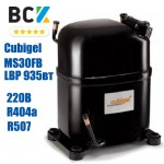 Компресор герметичний низькотемпературний LBP R404a/R507 Cubigel MS30FB 935Вт 220В для холодильних агрегатів