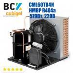 Агрегат холодильний середньотемпературний HMBP R404a Cubigel CML60TB4N 579Вт 220В