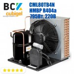 Агрегат холодильний середньотемпературний HMBP R404a Cubigel CML80TB4N 795Вт 220В