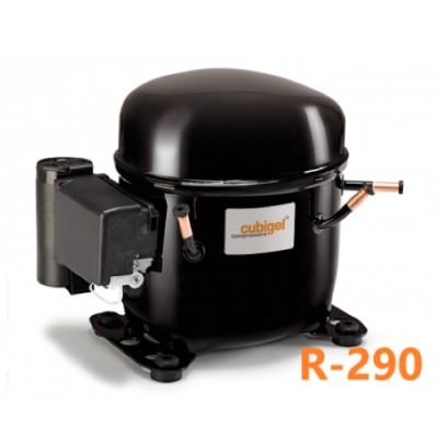 Компрессор низкотемпературный LBP R290 CUBIGEL NUY90LAa (338Вт)