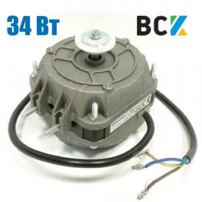 Двигатель переменного тока асинхронный 34Вт втулка вентилятор полюсный 34W