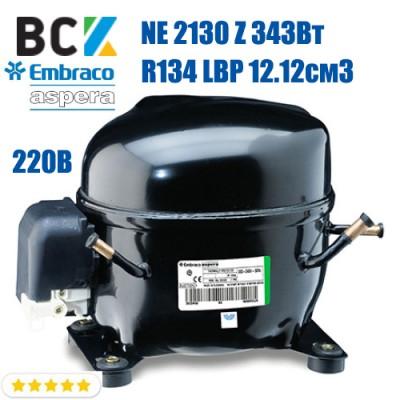 Компрессор герметичный низкотемпературный Embraco Aspera NE 2130 Z 343Вт R134a LBP 12.12см3 CSIR для холодильных агрегатов 220В