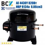 Компрессор герметичный высокотемпературный HBP R134a Kulthorn Kirby AE 4430Y 820Вт 8.86см3 для холодильных агрегатов 220В аналог embraco NEK6170Z