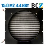 Конденсатор повітряного охолодження FN-15.0/CD-15.0 4.4 кВт 550x180x480mm