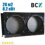 Конденсатор повітряного охолодження FN-28.0/CD-28.0 8.2 кВт 900x180x430mm
