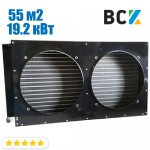 Конденсатор повітряного охолодження FN-55.0/CD-55.0 19.2 кВт 1250x200x730mm