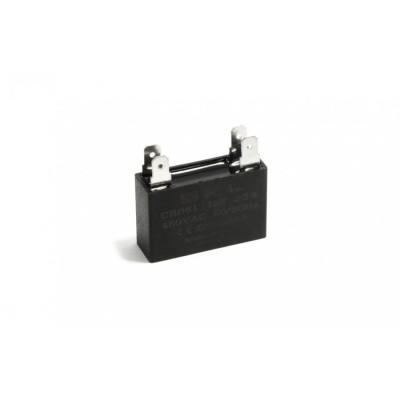 Конденсатор пусковой прямоугольный 1µF 450VAC CBB61 37x13x23mm SKL CAP650UN