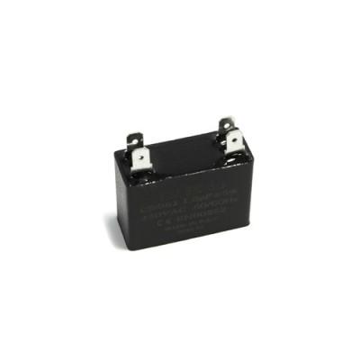 Конденсатор пусковой прямоугольный 1.5µF 450VAC CBB61 37x14x25mm SKL CAP652UN