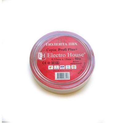 Изолента ПВХ 18mm L=50m ElectroHouse