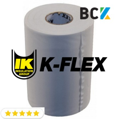 Лента обмоточная тефлоновая 100мм 25м обмотка 0.13mmx105mmx25m Benda Vinil K-flex  белая для изоляции труб при монтаже кондиционеров