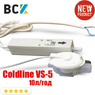 Дренажный насос Coldline VS-5 10 литров/час для отвода конденсата при монтаже и установке кондиционера помпа дренажа