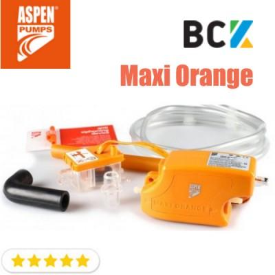 Дренажный насос Aspen Pumps Maxi Orange FP2210 AC-MAXOR 26 л/ч для отвода конденсата при монтаже и установке кондиционера