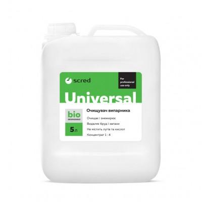 Средство химия для чистки мойки кондиционера UNIVERSAL SCRED 5л. (концентрат от 1:4 до 1:6)