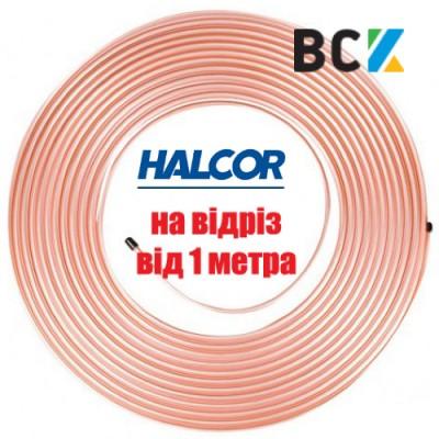 """Труба медная мягкая 1/4"""" 6.35x0.76 Halcor Греция от метра на отрез"""
