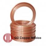 """Труба мiдна 1/4"""" 6.35x0.76 GD Cooper Mexico від бухти 50м"""