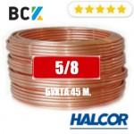"""Труба медная 5/8"""" (15.88x0.89) Halcor(Греция) от бухты 45м для монтажа кондиционеров"""