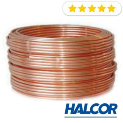 """Труба медная 5/8"""" (15.88x0.89) Halcor(Греция) от бухты 45м"""
