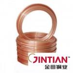 """Труба мідна м'яка 1/4"""" JINTIAN (6,35 / 0,70 мм.) від бухти 15м."""