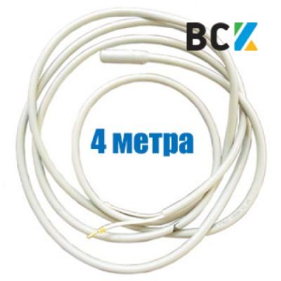 ТЭН гибкий дренажный 4м 160-200W 220V греющий нагревательный кабель под зимний комплект кондиционера антиобледенение