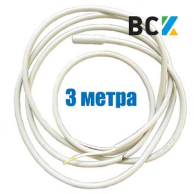 ТЭН гибкий дренажный 3м 90W 220V, греющий нагревательный кабель под зимний комплект кондиционера антиобледенение