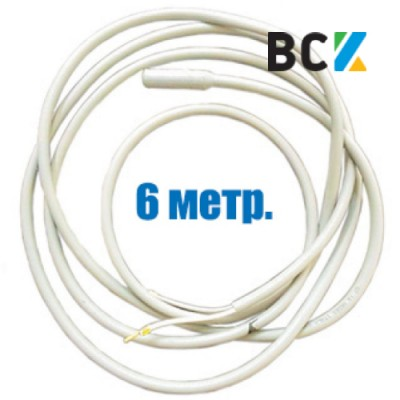 ТЭН гибкий дренажный 6м греющий нагревательный кабель под зимний комплект кондиционера антиобледенение