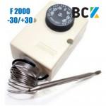 Термостат F2000 датчик реле температуры -35°C+35°C для холодильного оборудования и под зимний комплект кондиционера Ф2000