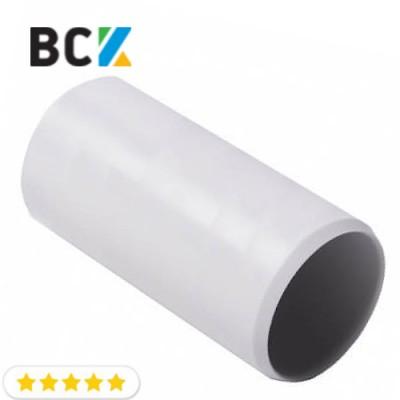 Муфта отвод прямой для дренажной трубы 16 мм пластик серый под клей для установки и монтажа кондиционеров вывод конденсата